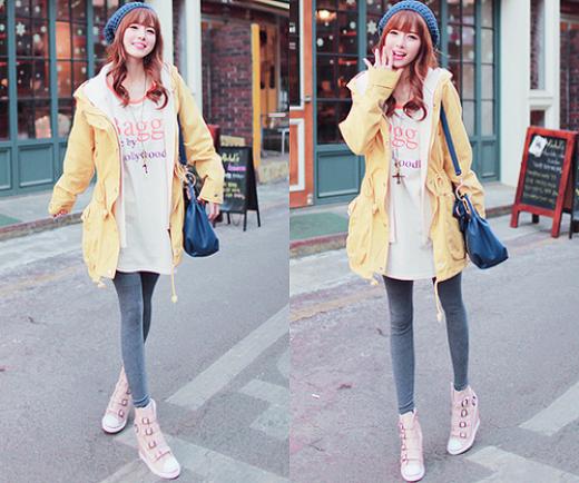Những chiêu chọn trang phục biến chân ngắn thành chân dài