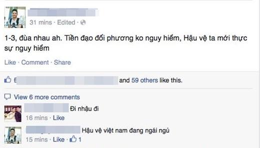 Người hâm mộ bàng hoàng sau trận thua khó hiểu của ĐT Việt Nam
