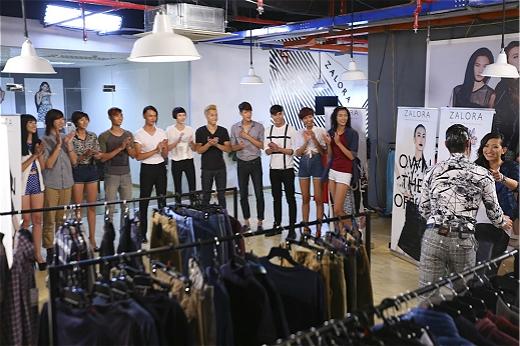 Thí sinh Next Top Model phấn khích vì được thỏa sức mua sắm