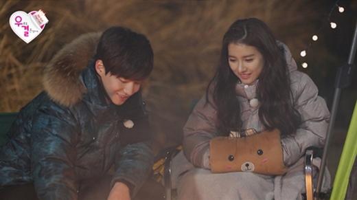 Kim So Eun 'tìm chồng' bằng cách sờ vào yết hầu
