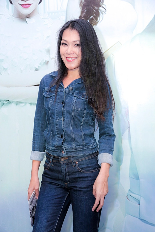 Đinh Y Nhung cá tính với bộ jeans - Tin sao Viet - Tin tuc sao Viet - Scandal sao Viet - Tin tuc cua Sao - Tin cua Sao
