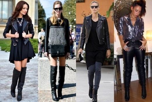 7 phong cách thời trang cực chất với bốt cao cổ
