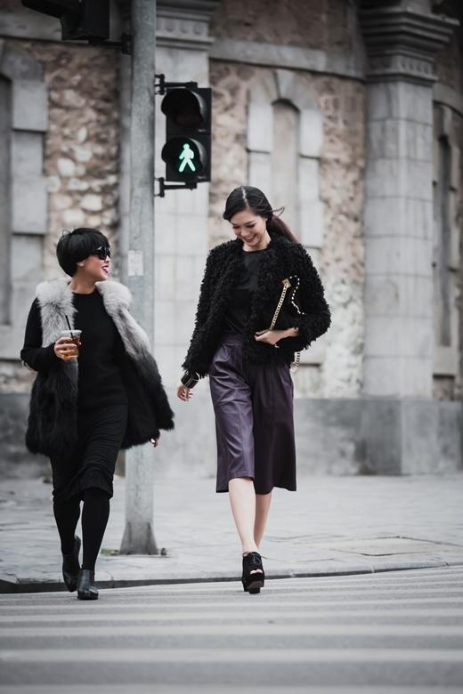 So với các Hoa hậu khác, style thời trang đời thường củaThùy Dungđược đánh giá cao.