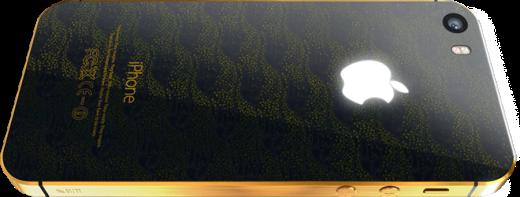 Feld & Volk là một trong những hãng chế tác iPhone nổi tiếng nhất thế giới. Chiếc iPhone 5S phiên bản bằng vàng nguyên chất này của họ có giá 8.990 USD.