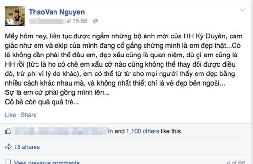 MC Thảo Vân gây bất ngờ với lời dạy dỗ tân Hoa hậu Kỳ Duyên - Tin sao Viet - Tin tuc sao Viet - Scandal sao Viet - Tin tuc cua Sao - Tin cua Sao