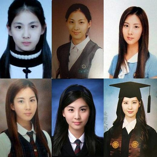 Ảnh kỷ yếu của Yoona và Seohyun gây sốt