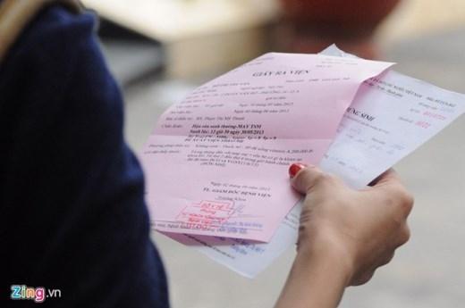 Sau khi được ra khỏi trung tâm, Chị Vân đã đến bệnh viện Từ Dũ để làm các giấy tờ chứng sinh cho con trai.