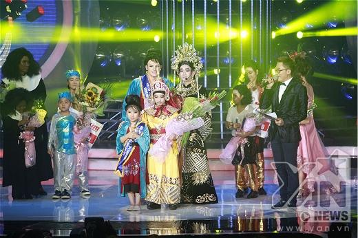 Giải nhì thuộc về bé Anh Duy - Minh Thuận.
