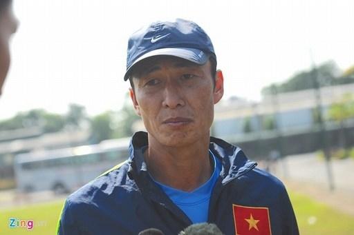 Trợ lý Đặng Phương Nam cũng gây sốc bằng phát biểu về lứa U19. Ảnh: Tùng Lê