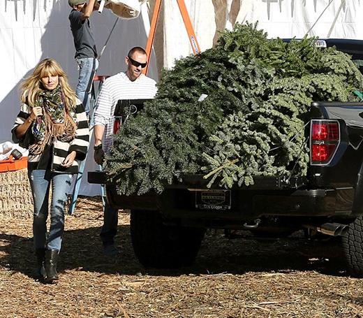 Sao Hollywood tất bật chuẩn bị Giáng Sinh
