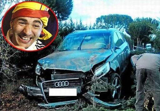 10 sao sân cỏ từng hết hồn vì gặp tai nạn xe hơi