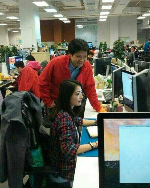 Bức ảnh gây sốt của Trương Tiểu Công trên mạng