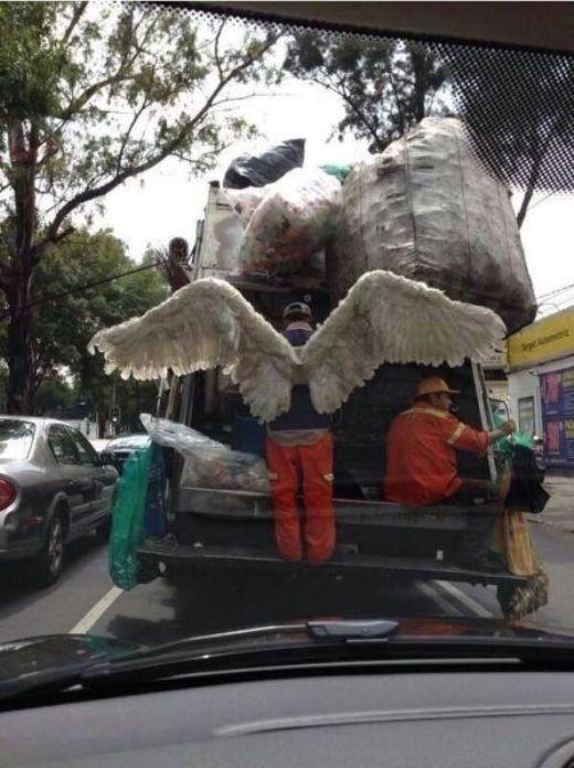 Thiên thần xuất hiện