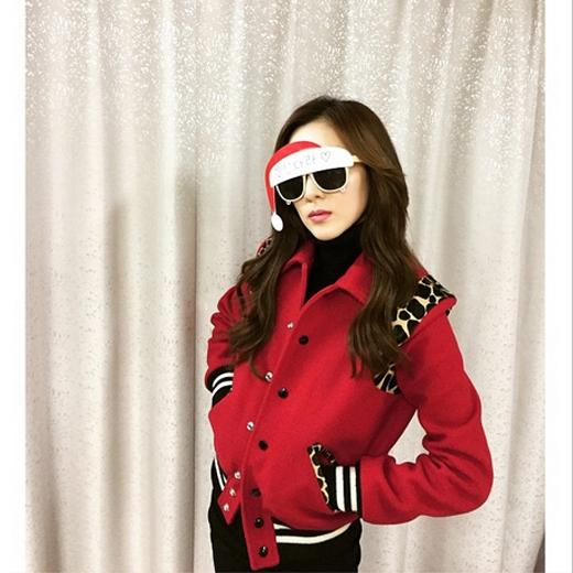 Dara đón giáng sinh sơm cùng chiếc kính cực đáng yêu