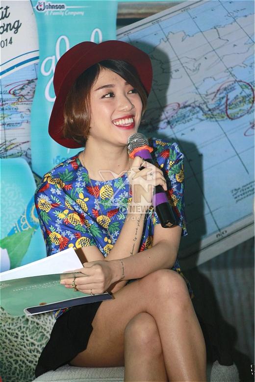 Hoa hậu Ngô Phương Lan bật mí món quà đầu tiên tặng ông xã - Tin sao Viet - Tin tuc sao Viet - Scandal sao Viet - Tin tuc cua Sao - Tin cua Sao