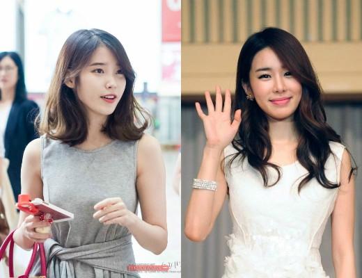 IU bị nghi 'hẹn hò' với Yoo In Na