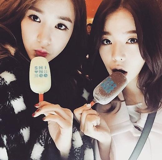 Tiffany và Sunny