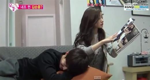 Kim So Eun nổi ghen khi chồng nhắc đến bạn gái cũ