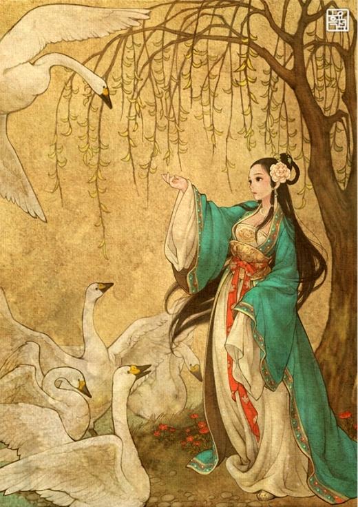 Công chúa và bầy thiên nga phiên bản... kiếm hiệp cổ trang