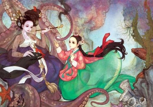 Nàng tiên cá Ariel không còn mái tóc đỏ đặc trưng, phù thủy Ursula thì lại mang một vẻ đẹp sắc sảo bất ngờ