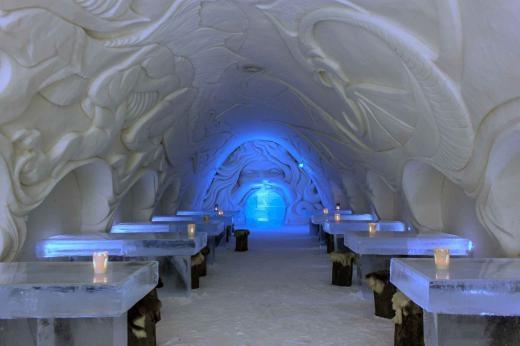 Những khách sạn băng giá ấn tượng nhất thế giới