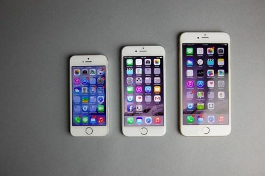 iPhone 5S, iPhone 6, iPhone 6 Plus vẫn chỉ có RAM 1GB.