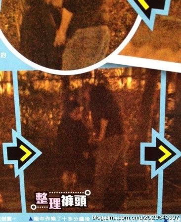Những bức ảnh gây chấn động làng giải trí Hoa ngữ năm 2014