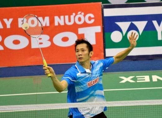 Nguyễn Tiến Minh là tỷ phú về thu nhập của làng thể thao Việt Nam từ vài năm qua. Ảnh: Nguyễn Đăng.