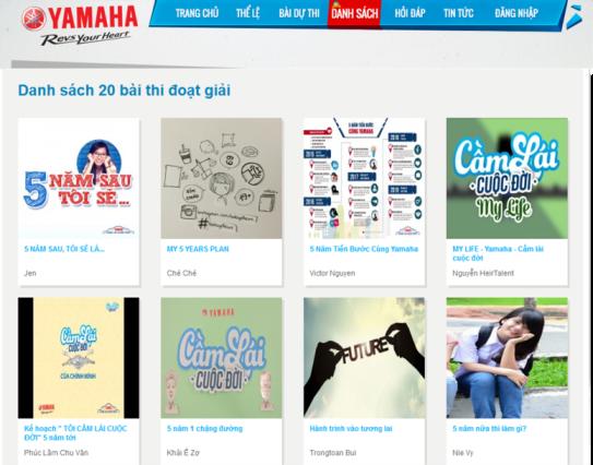 """Giới trẻ Việt gieo mầm ước mơ tại sân chơi """"Yamaha – Cầm lái cuộc đời"""""""