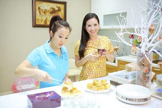 Em gái Hoa hậu Thu Hoài cũng phụ chị gái chăm chút cho nhà cửa - Tin sao Viet - Tin tuc sao Viet - Scandal sao Viet - Tin tuc cua Sao - Tin cua Sao