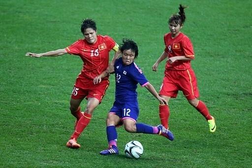 Lần đầu tiên trong lịch sử, bóng đá nữ Việt Nam góp mặt tại bán kết một kỳ Asian Games. Ảnh: Getty Images