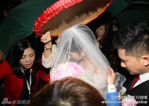 Lâm Y Thần chính thức lên xe hoa trong ngày giáng sinh