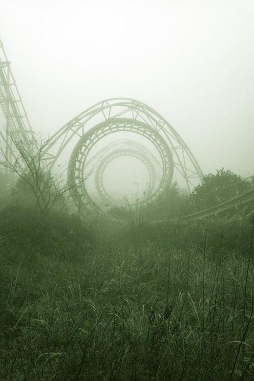 Một công viên giải trí bỏ hoang