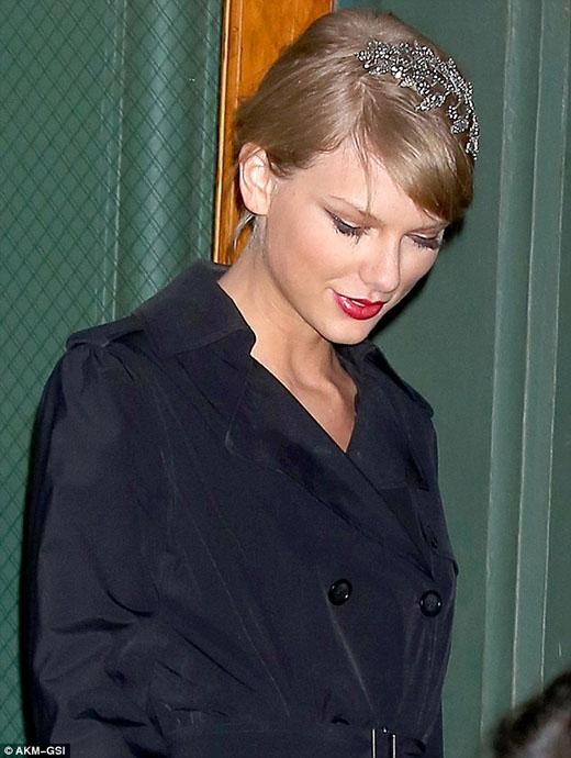 Nghía trộm lễ Giáng Sinh bên gia đình của Taylor Swift
