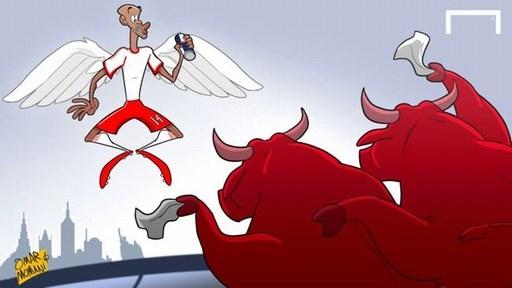 Người hâm mộ New York Red Bulls nuối tiếc khi tiền đạo Thierry Henry nói lời chia tay đội bóng