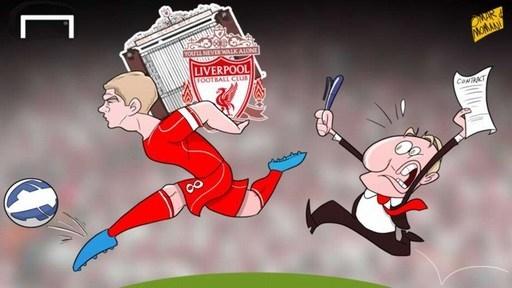 Tiền vệ Steven Gerrard quyết mang cả lịch sử của Liverpool rời Anfield bất chấp nỗ lực níu kéo từ HLV Brendan Rodgers và ban lãnh đạo The Kop.