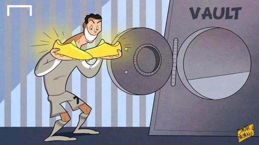 Những bức biếm họa bóng đá ấn tượng nhất tháng 12