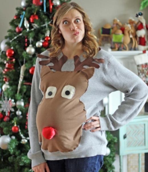 Chiếc áo cho bà mẹ đem Noel.