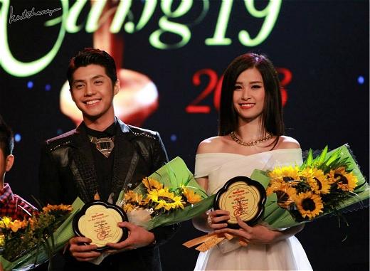 Đông Nhi và Noo Phước Thịnh là một trong số những nghệ sĩ trẻ giành được nhiều giải thưởng danh giá trong nước. - Tin sao Viet - Tin tuc sao Viet - Scandal sao Viet - Tin tuc cua Sao - Tin cua Sao
