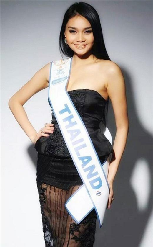 Tân hoa hậu Liên lục địa người Thái Lan.