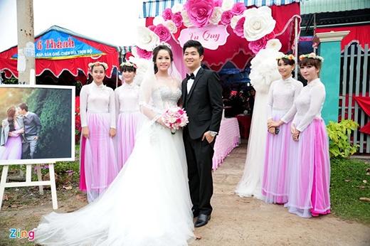 Nhật Kim Anh và ông xã rạng ngời trong lễ cưới. - Tin sao Viet - Tin tuc sao Viet - Scandal sao Viet - Tin tuc cua Sao - Tin cua Sao