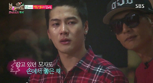 Jackson khóc nức nở khi gặp lại mẹ trong Roommate