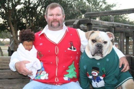 Noel của FA: búp bê là con, chó Bull là người yêu