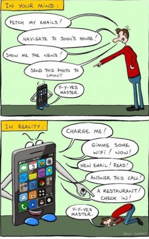 Người dùng đang ngày càng lệ thuộc vào smartphone trong khi bản thân họ không hề nhận ra điều đó.