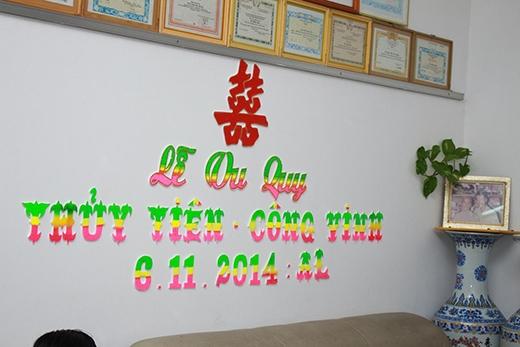 Những dòng chữ lễ vu quy được treo trong nhà - Tin sao Viet - Tin tuc sao Viet - Scandal sao Viet - Tin tuc cua Sao - Tin cua Sao