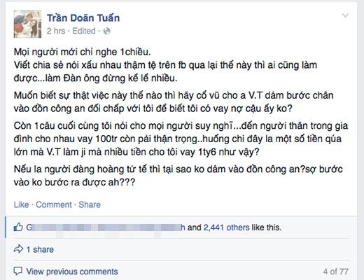 Doãn Tuấn lần đầu lên tiếng về scandal với Vĩnh Thụy - Tin sao Viet - Tin tuc sao Viet - Scandal sao Viet - Tin tuc cua Sao - Tin cua Sao