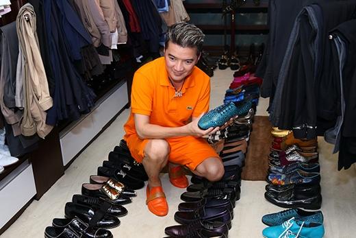 Bộ sưu tập giày hiệu hơn 600 đôi của Đàm Vĩnh Hưng - Tin sao Viet - Tin tuc sao Viet - Scandal sao Viet - Tin tuc cua Sao - Tin cua Sao