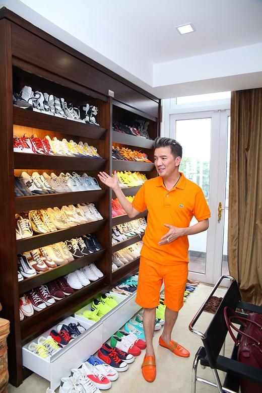 Đàm Vĩnh Hưng sở hữu bộ sưu tập giày khủng. - Tin sao Viet - Tin tuc sao Viet - Scandal sao Viet - Tin tuc cua Sao - Tin cua Sao