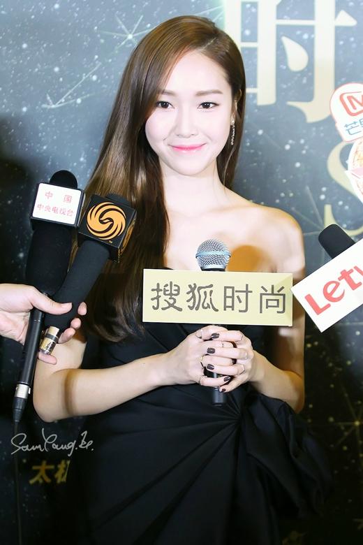 Jessica phấn khởi về sự thành công tại Trung Quốc