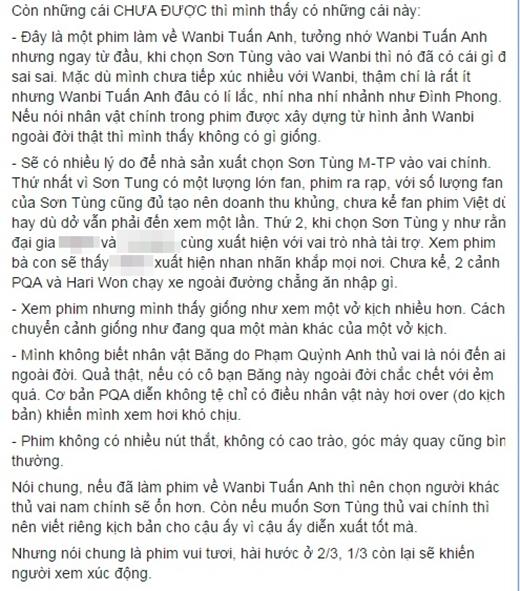 """Nhân vật Đình Phong """"không có chút gì là của nguyên mẫu WanBi Tuấn Anh"""" - Tin sao Viet - Tin tuc sao Viet - Scandal sao Viet - Tin tuc cua Sao - Tin cua Sao"""